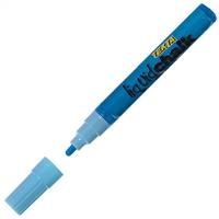 TEXTA LIQUID CHALK MARKER WET WIPE BULLET 4.5MM BLUE