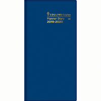 COLLINS 2020-2021 COLPLAN PLANNER DIARY 2 YEAR MONTH TO VIEW B6/7 BLUE