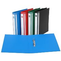 MARBIG ENVIRO DELUXE RING BINDER 4D 25MM A4 BLUE