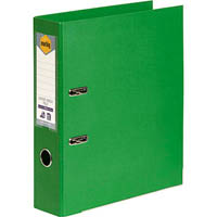 MARBIG LINEN LEVER ARCH FILE PE A4 GREEN